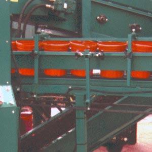 Infeed Pot Loading Conveyor