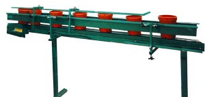Infeed Pot Loading Conveyor Clipped