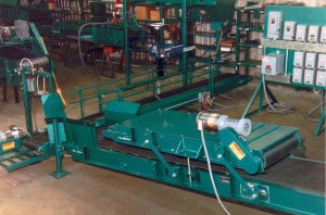 Bag Flattening Conveyor Color